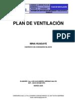 5. PLAN DE VENTILACIÓN HIL 08191