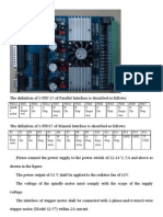 HY-TA4DV Four Axis Actuation Board Instruction Booklet
