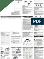 MANUAL DE INSTRUÇÕES - COMPRESSORES ALTERNATIVOS EM FERRO FUNDIDO- CP