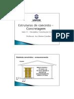 11 - Estruturas de concreto - concretagem [Modo de Compatibilidade]