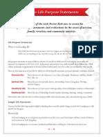Sample Life purpose statements.pdf