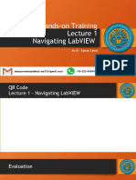 LabVIEW Lecture 1 - Navigating  LabVIEW.pptx