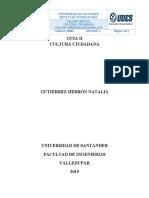 TALLER II CULTURA CIUDADANA