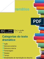 Características do texto dramático (1)