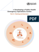 Handbook for Developing a Public HealthEmergency Operations CentrePart C