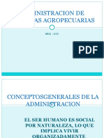 CONCEPTOS GENERALES DE LA ADMINISTRACIONN