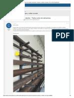 Cálculo de soporte de tuberías, chapas y varillas roscadas _ Foros Sólo Arquitectura