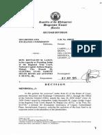 Banking - Preneed - SEC v. Laigo