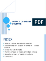 Impact of Media on Culture