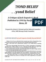 Is BEYOND BELIEF Beyond Belief - Jack Sequeira - PDF