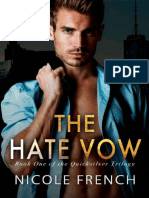 The Hate Vow (Quicksilver Book - Nicole French.epub