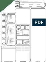 D&D 5E Char Sheet - 2020 Revision