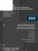 PROFED3 PPT EDUCATIONAL PHILOSOPHIES