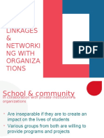 LINKAGES AND NETWORKING WITH ORGANIZATIONS.pptx