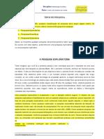 TIPOS DE PESQUISA.doc