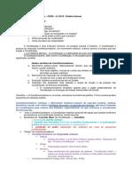 Constitucional CERS - Constitucionalismo Resumo