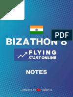 Bizathon 8 Notes by Rito