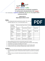 Rapides Parish School Board COVID-19 information