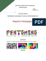 Regitro pedagogico pentomino