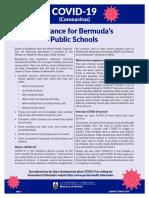 11436 Coronavirus 2020 Guidance Public Schools Flyer