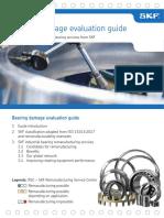 SKF Ball bearing failure analysis ISO 15243