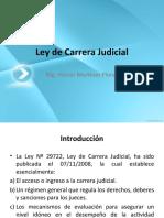 Ley Carrera Judicial