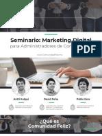 Seminario Marketing Digital para Administradores Condominales
