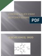 Contoh Ligan Pada Senyawa Kompleks
