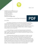 RAICES Letter to ICE Regarding COVD 19