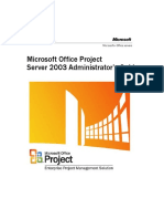 Libros - Microsoft - Project Server 2003 Administrators Guide