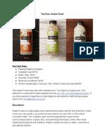 KC Ample Foods Top Deal Report