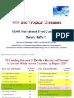 HIV Malaria+Tropical Diseases