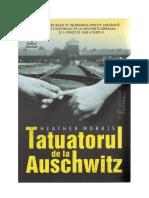 Heather Morris Tatuatorul de La Auschwitz PDF