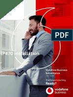IP470 Installation User Guide