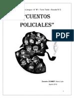 Cuentos Policiales Verbos y Cronica Policial