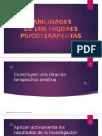 LOS MEJORES PSICOTERAPEUTAS