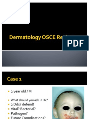 Dermatology OSCE Review | Cutaneous Conditions | Dermatology