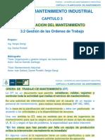CAP 3.2 GESTION DE LAS OT