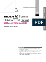 Installation Manual Plus II 220 V