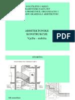 Arh Konstrukcije Vjezbe - Stubista