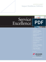 Service Excellence Position Paper