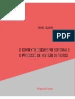 O Contexto Discursivo Editorial e o Processo de Revisão de Livros