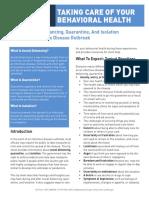 Tips Social Distancing Quarantine Isolation 031620