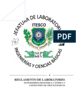 7.- Reglamento del laboratorio Actual - 20080