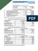 India FDI April2009