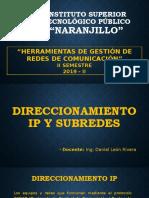 SEMANA 5 - DIRECCIONAMIENTO IP.pptx