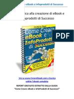 Come Creare eBook e InfoProdotti di Successo