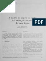 Regime de neutro EDP