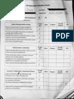 evaluation redacted