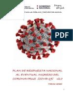 Plan de Respuesta Nacional al eventual ingreso del Coronavirus V2.0_06_03_2020